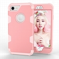iPhone 6 6s 7 8 Plus Xs Max Xr X Cover Hard PC Soft Rubber Silicone Case