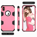 Hard PC Soft Rubber Silicone Case for iPhone XS MAX Shockproof