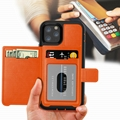 Genuine Leather Casing iPhone 11 Pro XS MAX XR X  Case Cover Card Holder
