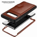 2 in 1 Leather Case Samsung Galaxy S10