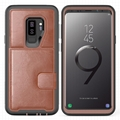 Samsung Galaxy S9 Plus Case PU Leather Holder for Business Man