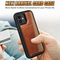 Stock! Leather Card Case Compatible With iPhone 11 6.1 Inch