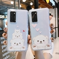 High Clear Case Cartoon Cover for iPhone 6 7 8