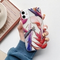 Luxury Plating Case IMD Flower Plating Case for iPhone