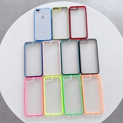 New Products Shockproof Clear TPU+PC Phone Case