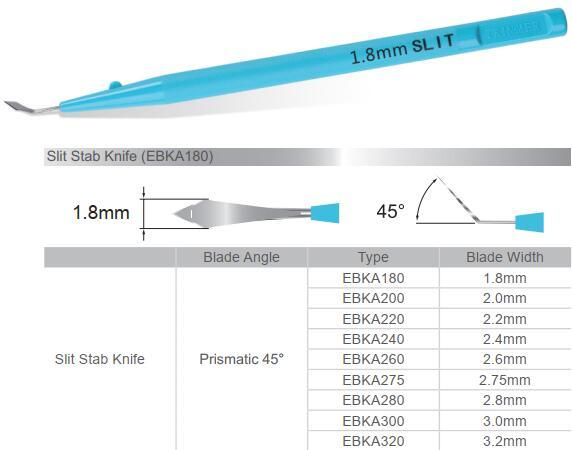 Disposable Ophthalmic Knives - Slit Stab Knife 1