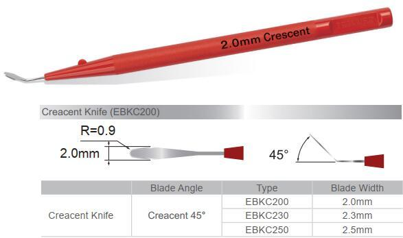 Disposable Ophthalmic Knives - Creacent Knife     1