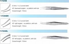 Cataract Fixation Forceps(squint forceps)
