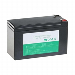 FT1209E Deep Cycle 2000 Cycles Solar Storage Rechargeable 12.8V 9AH Lithium Iron