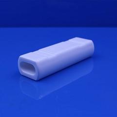 96% al2o3 aluminium oxide Ceramic Tube Alumina Ceramic Tube refractory