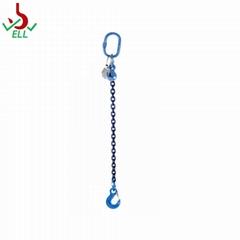 Single alloy steel chain sling with eye sling hook -G100