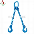 Single alloy steel chain sling with eye sling hook -G100