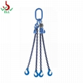 Chain sling 3 or 4 legs with clevis sling hook -G100