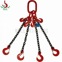4支鏈條 80級 自鎖安全鉤