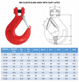 Lifting alloy chain sling with swivel selflock hook -G80