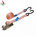 4T Ratchet Lashing strap LC2000 with double J hook