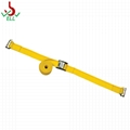 2'' 16ft  3000lbs E-Track Ratchet Strap cargo lashing with E fitting end