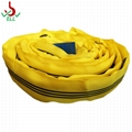 4T soft Round sling for lifting rigging rope