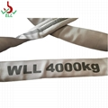 6T soft endless Round sling for lifting webbing sling