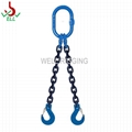 2T WLL alloy steel Lifting chain rigging sling 6mm - G100