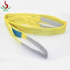 3T 涤纶扁平环眼吊装带