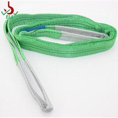 2T 涤纶扁平环眼吊装带