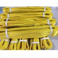 polyester flat webbing lifting sling 2 ply
