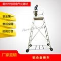 铝合金梯车 专用检测检查梯车