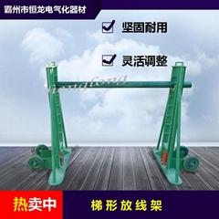 放线架 电缆梯形 挂轮多孔放线架液压升降架