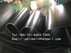 acid and alkali resistant rubber conveyor belt for chemical industry