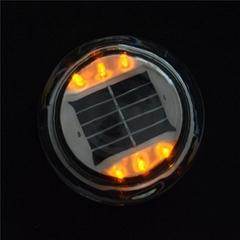 施路达车道轮廓线彩色太阳能玻璃道钉