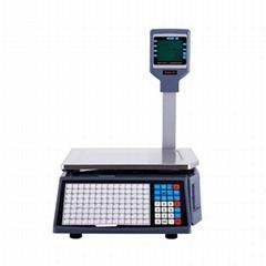 Rongta 30kg Supermarket Fruit Shop Label Printing Weighing Scale