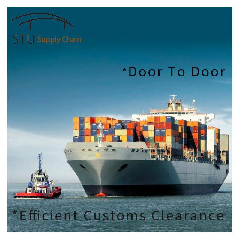 广州到墨西哥港口专线到门整柜到港门海运双清 1