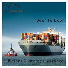 广州到墨西哥港口专线到门整柜到港门海运双清