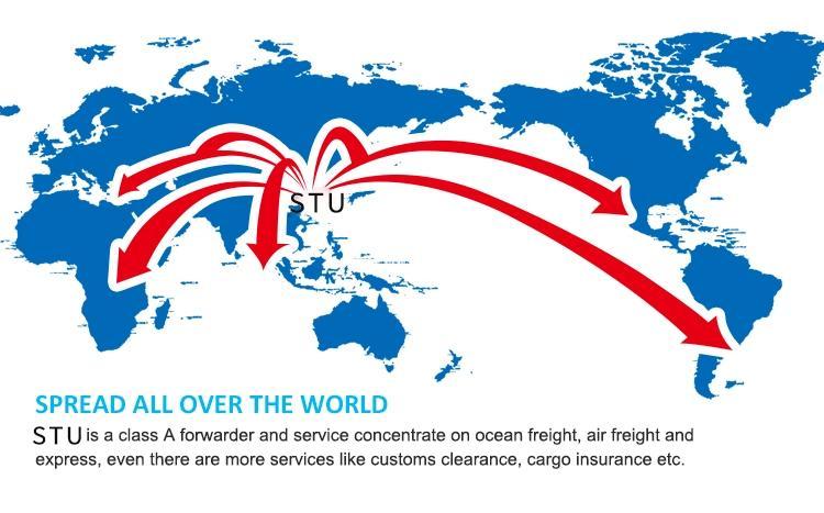 深圳到美國波士頓港整櫃散貨到港海運雙清服務 1