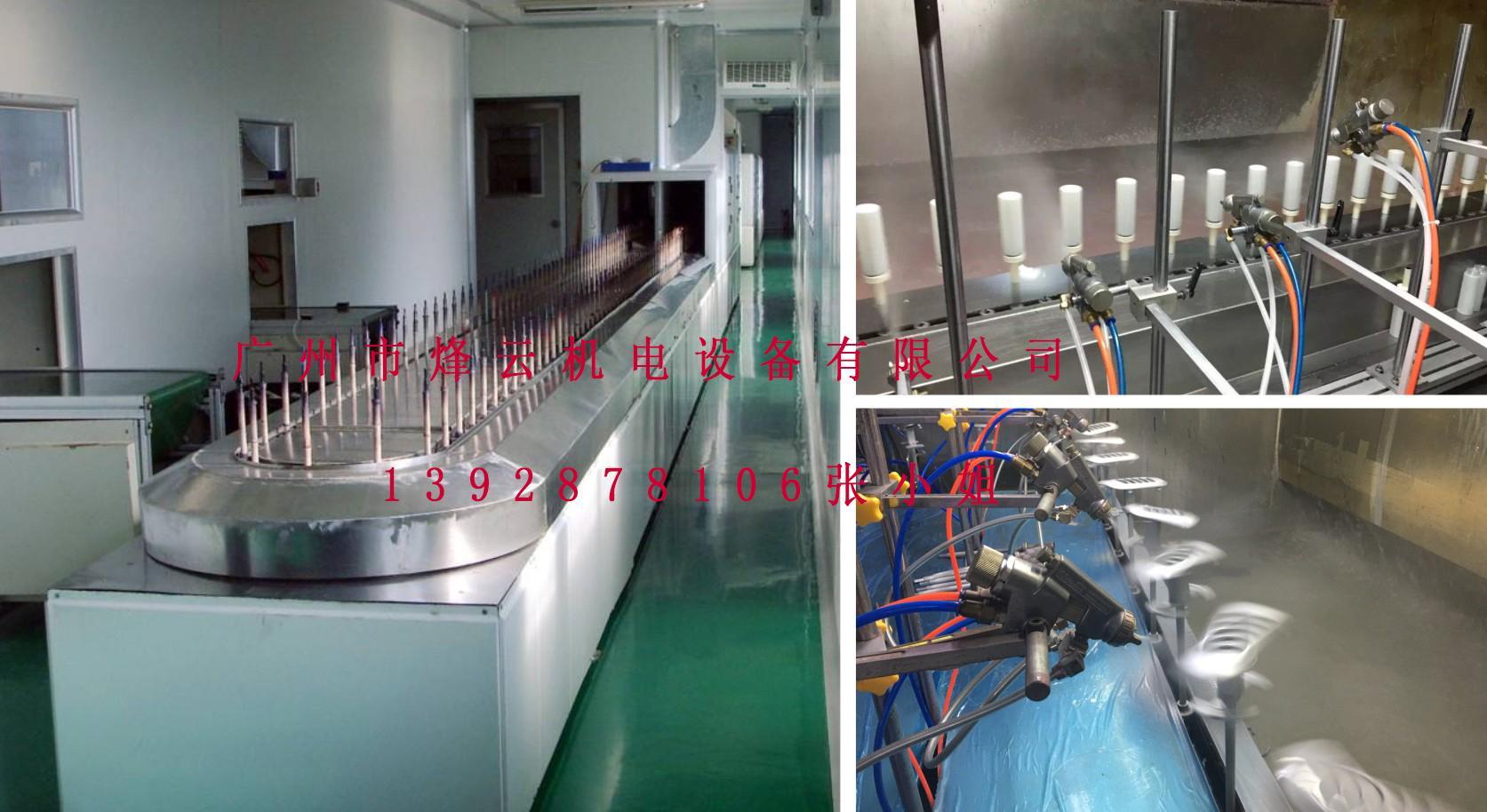 無塵環保型自動噴油設備 1