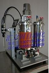 TF-560臺式精密AB雙組份小膠量自動混膠機及滴膠機