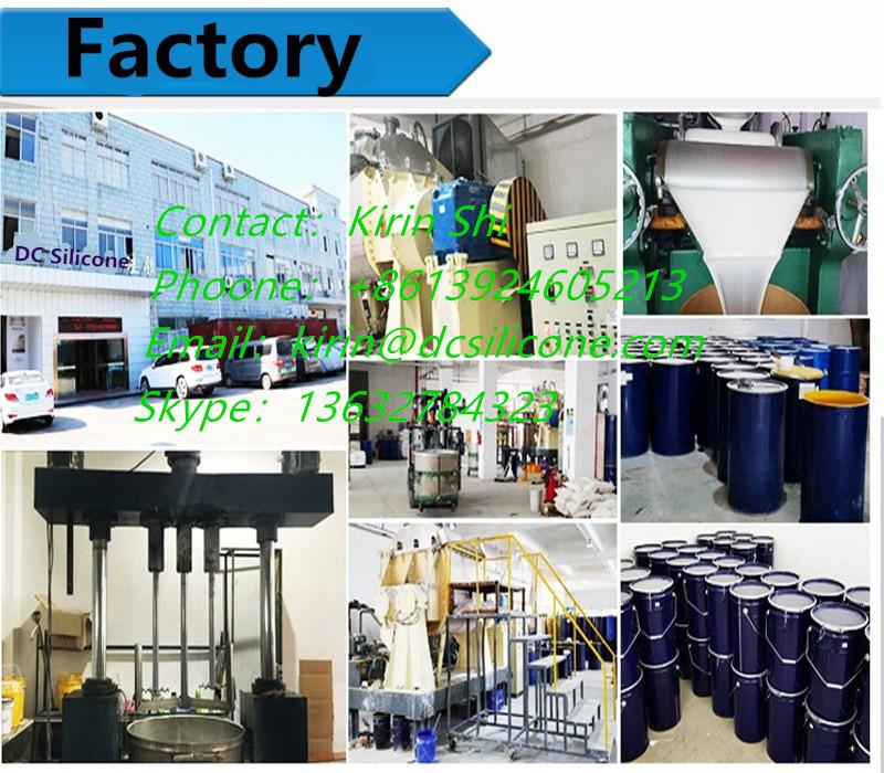 Environmentally High Temperature Resistant Addition Cure Silicone Rubber  5