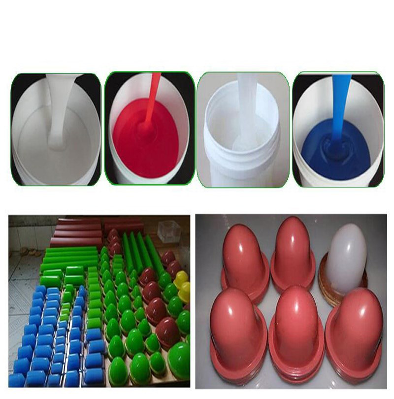Soft  High Temperature Resistance  Pad Printing RTV-2 Silicone Rubber  1