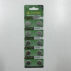 Tianqiu LR1130 button cell battery AG10 battery watch battery 389 battery