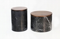 MARBLE CANISTER SUGAR COFFEE TEA CONTAINER KITCHEN STORAGE