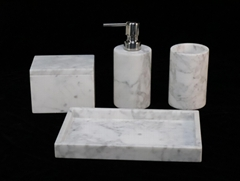 marble bathroom accessories sets