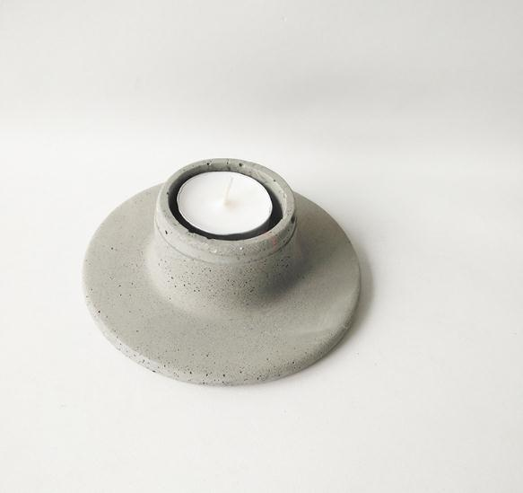 concrete cylinder candle holder made in china 2