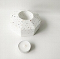 terrazzo candle container for Home Decor Wholesale