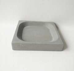 cement bathroom accessories soap dish