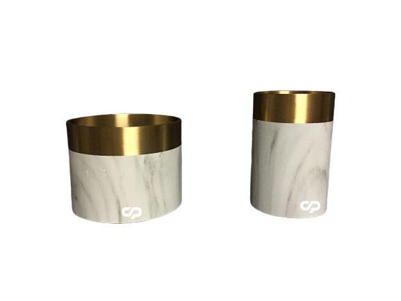 natural marble vase for home decoration