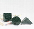 Green Marble Name Card Holder Desktop Business Card Holders