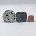 cement terrazzo wall hooks decorative for living home