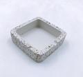 Wholesale factory high quality custom ashtray concrete terrazzo ashtray 2