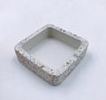 Wholesale factory high quality custom ashtray concrete terrazzo ashtray 3